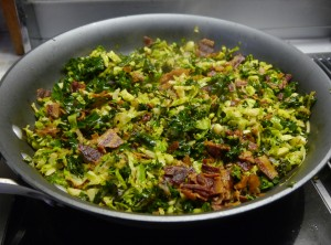 Kale Brussels Sprouts Recipe