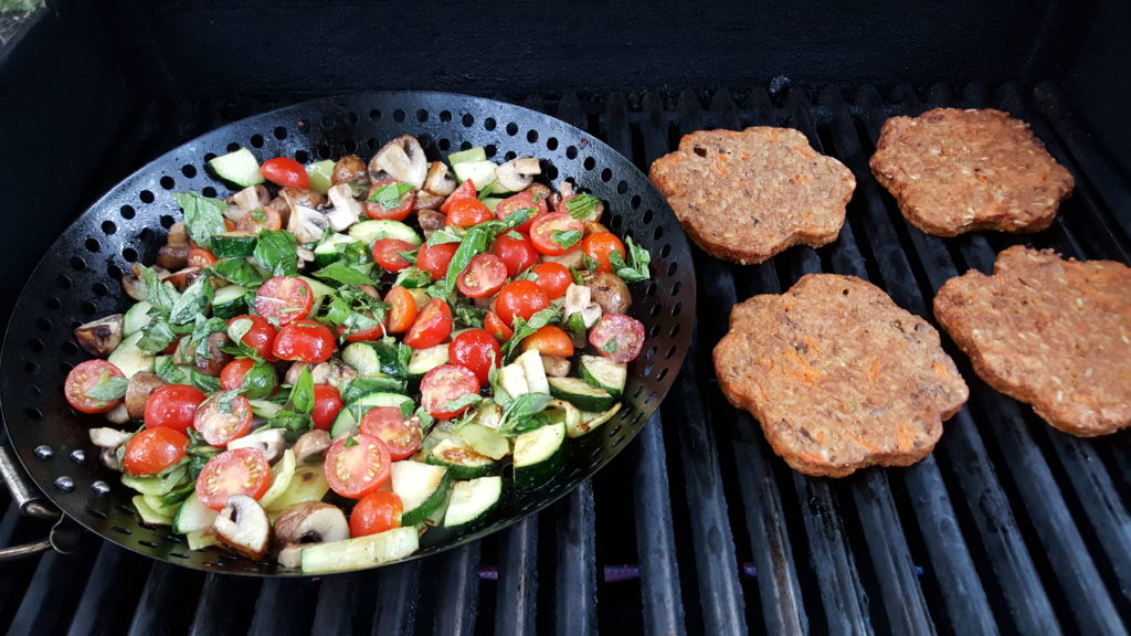 Grilled Garden Veggies